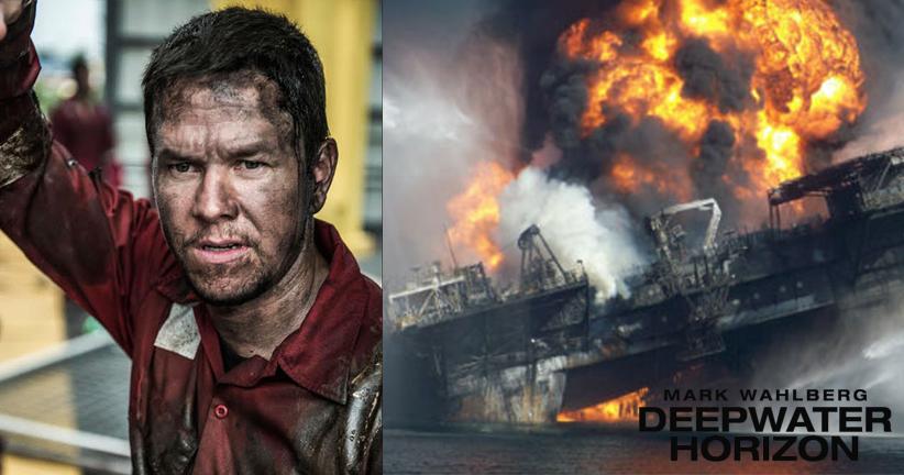 مارک والبرگ در فاجعه انفجار سکوی نفتی