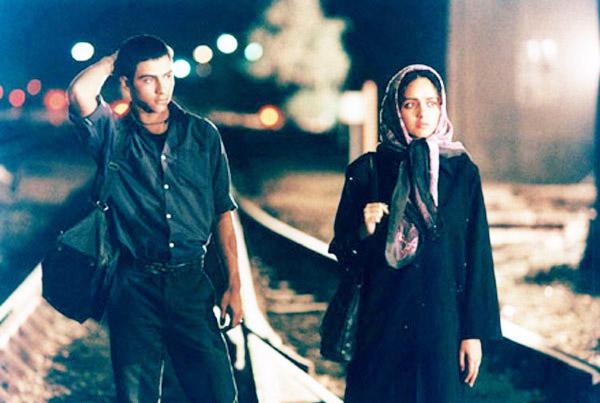 Babak Ansari as Ala (left) and Taraneh Alidoosti as Firoozeh (right), as seen in BEAUTIFUL CITY.Photo credit:Sheherazad Media International.