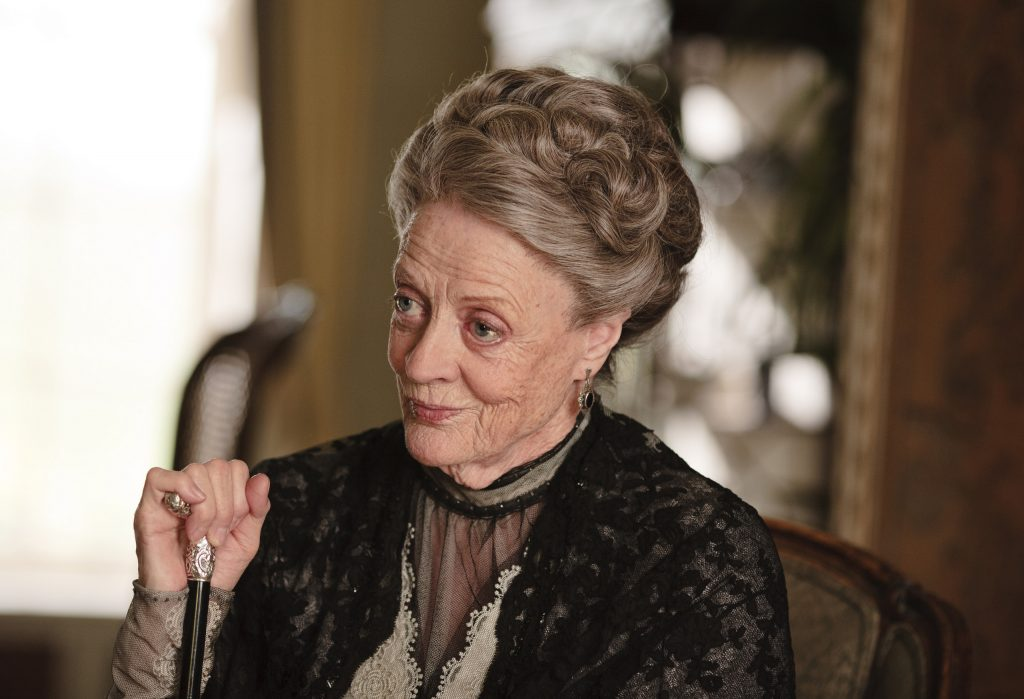 Downton Abbey Season 2 on MASTERPIECE Classic Part 4 - Sunday, January 29, 2012 at 9pm ET on PBS Shown: Maggie Smith as Violet, Dowager Countess of Grantham (C) Carnival Film & Television Limited 2011 for MASTERPIECE This image may be used only in the direct promotion of MASTERPIECE CLASSIC. No other rights are granted. All rights are reserved. Editorial use only.