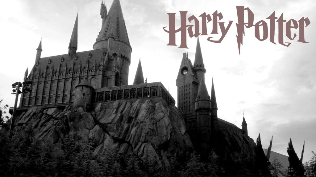 harry-potter-wallpaper-with-logo-and-hogwarts