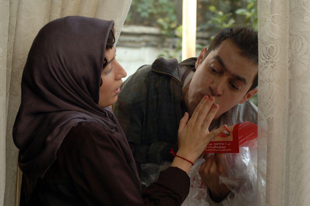 شهاب حسینی و نگار جواهریان در فیلم حوض نقاشی