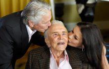 در مهمانی تولد ۱۰۰ سالگی کرک داگلاس چه گذشت؟