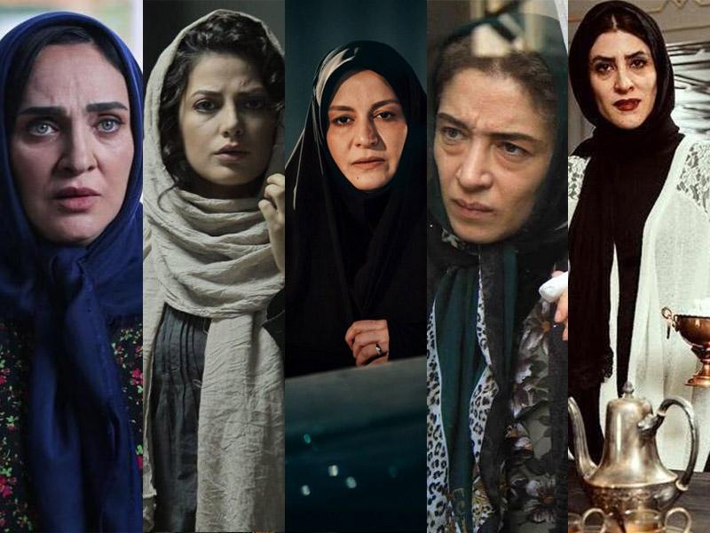 پرکارترین بازیگران زن سال 95 چه کسانی بودند؟