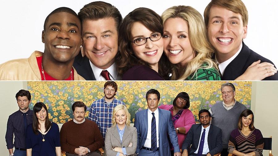 ۱۰ کمدی تلویزیونی برتر قرن ۲۱ به ترتیب ردهبندی