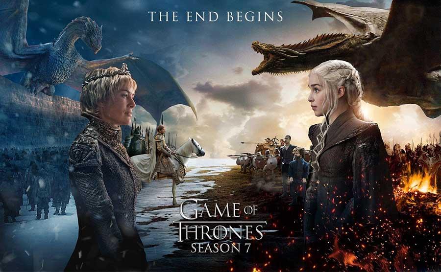 قسمت اول فصل جدید سریال «بازی تاجوتخت»  رکورد قبلی تعداد تماشاگران را شکست