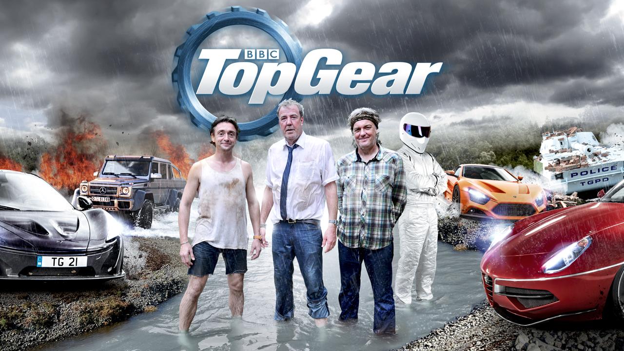 Top Gear پربینندهترین برنامهی ماشین محور جهان