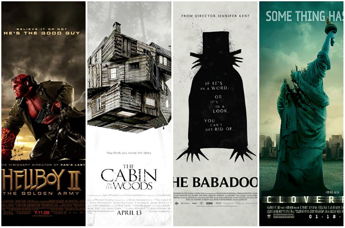 ۱۰ فیلم هیولایی برتر قرن بیست و یک