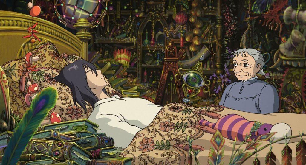قلعه متحرک هاول انیمیشن