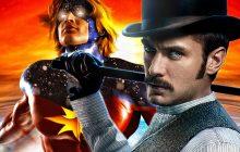 جود لا و بری لارسون در Captain Marvel مقابل همبازی میکنند