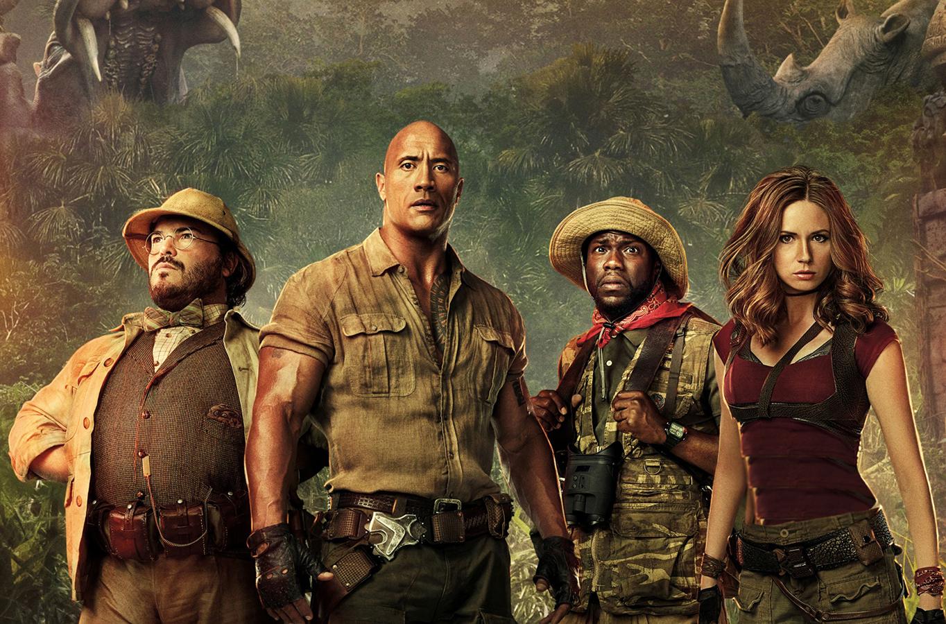 معرفیJumanji: Welcome to the Jungle: خندهدار، سرگرمکننده و پرهیجان