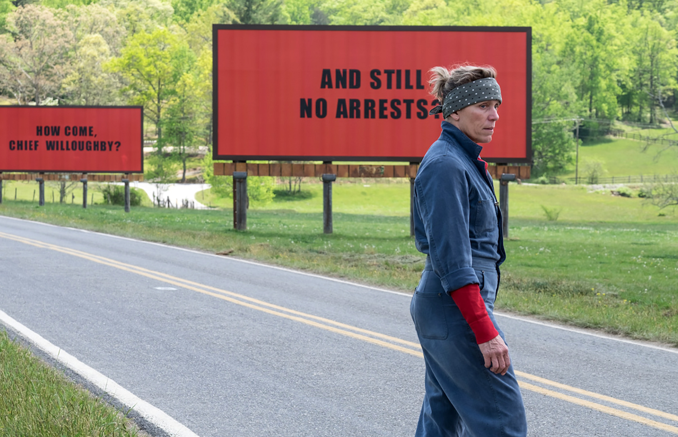 بررسی و معرفی فیلم‌ Three Billboards Outside Ebbing, Missouri