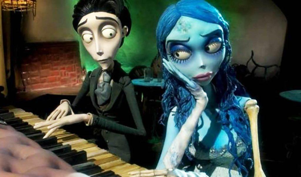 عروس مرده رمانتیک انیمیشن