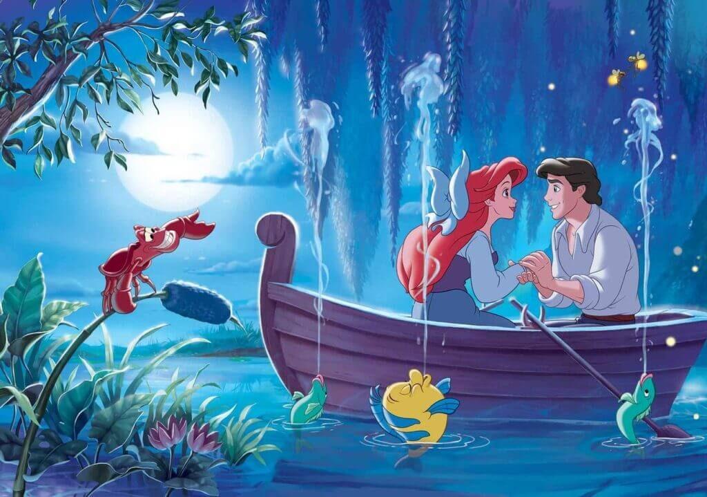 پری دریایی کوچولو رمانتیک انیمیشن