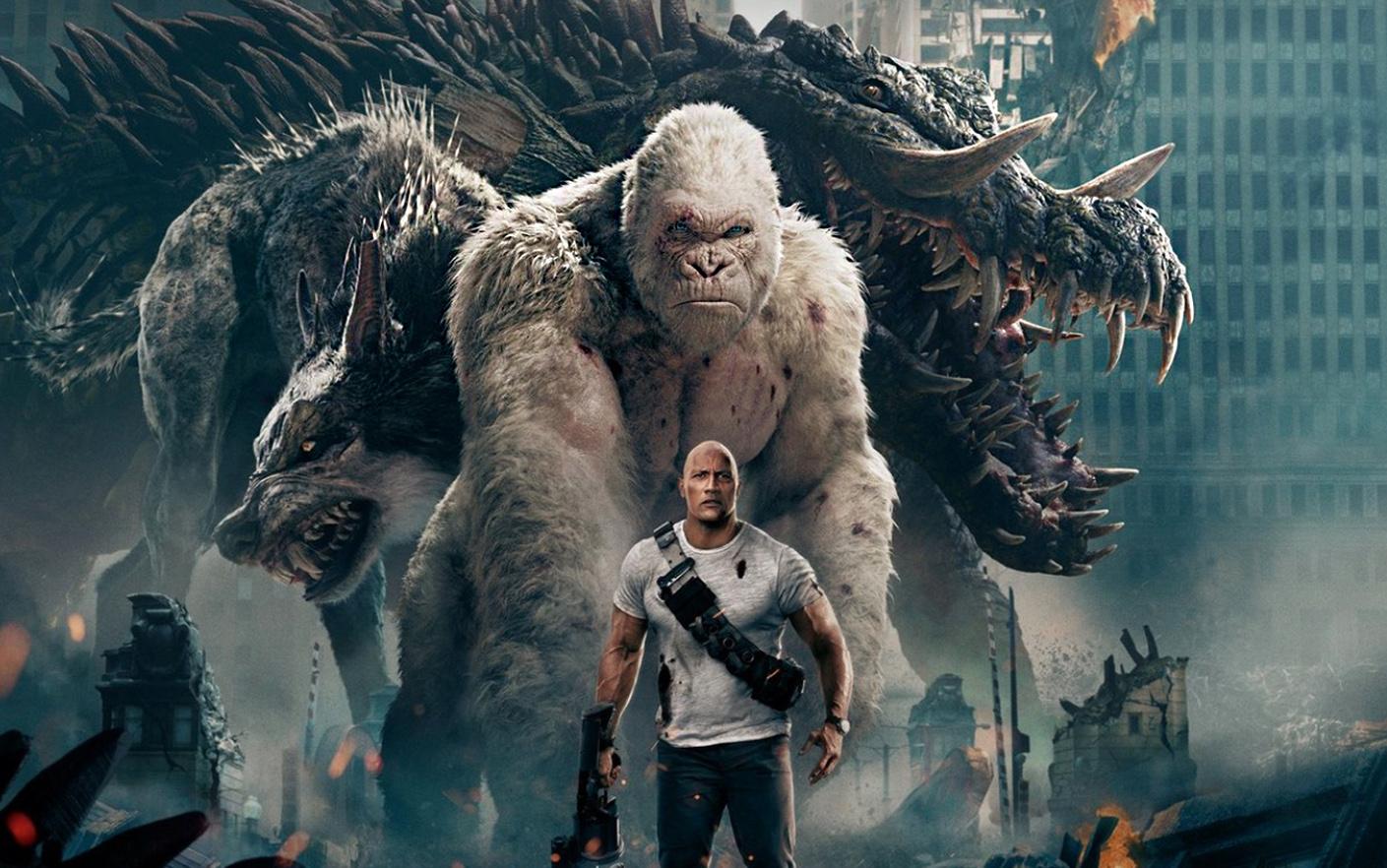 بررسی فیلم Rampage: فیلمی سرگرمکننده برای تماشا در یک روز تعطیل