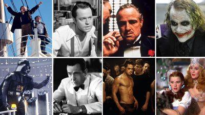 ۱۰۰ فیلم برتر مورد علاقهی هالیوود