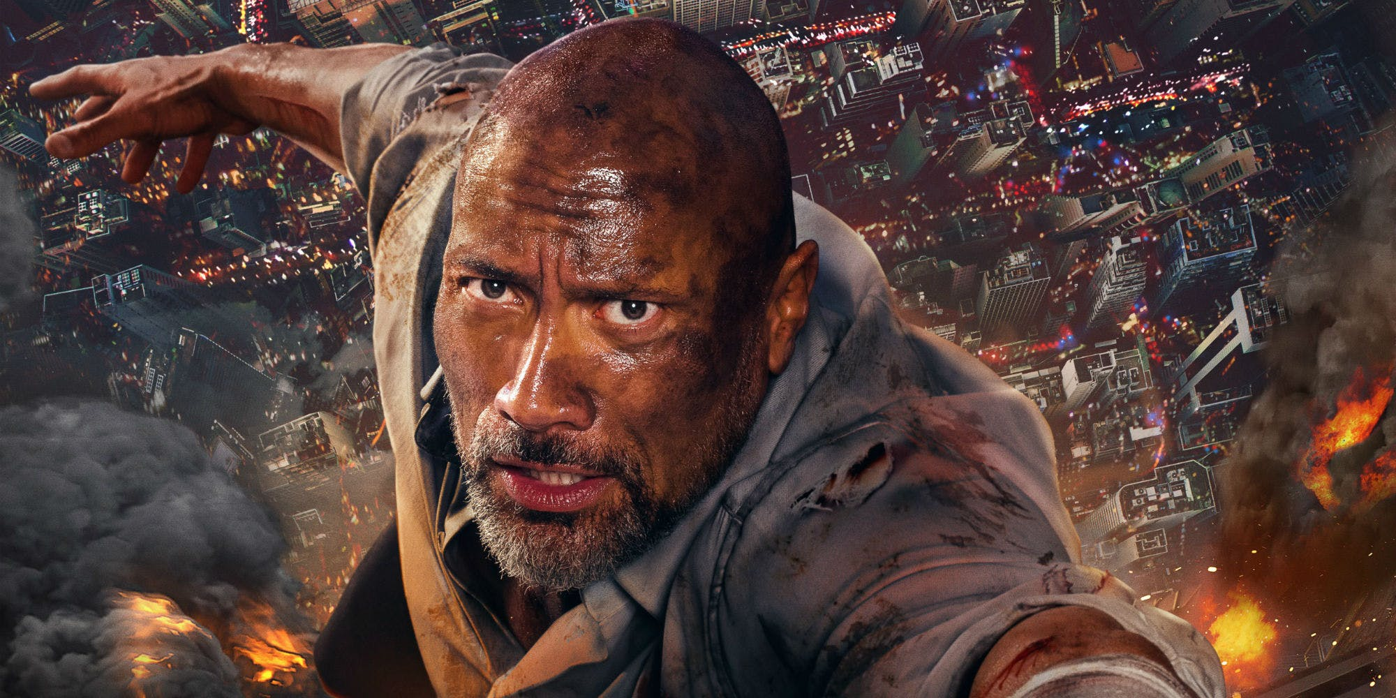 نقد فیلم Skyscraper: فیلم جدید دوین جانسون (راک)