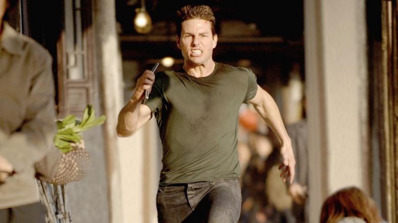 فیلمهایی که تام کروز در آنها بیشتر دویده است، موفقترند