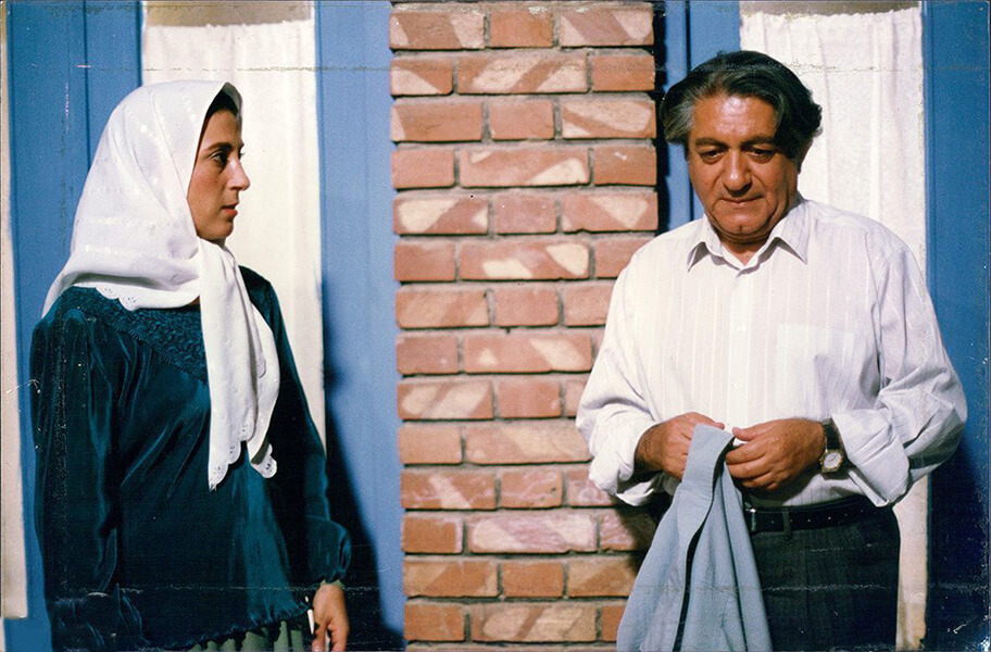 فیلم سینمایی روسری آبی عزتالله انتظامی