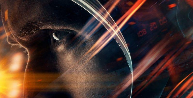 اولین عکس منتشرشده از First Man رایان گاسلینگ را در فضا نشان میدهد
