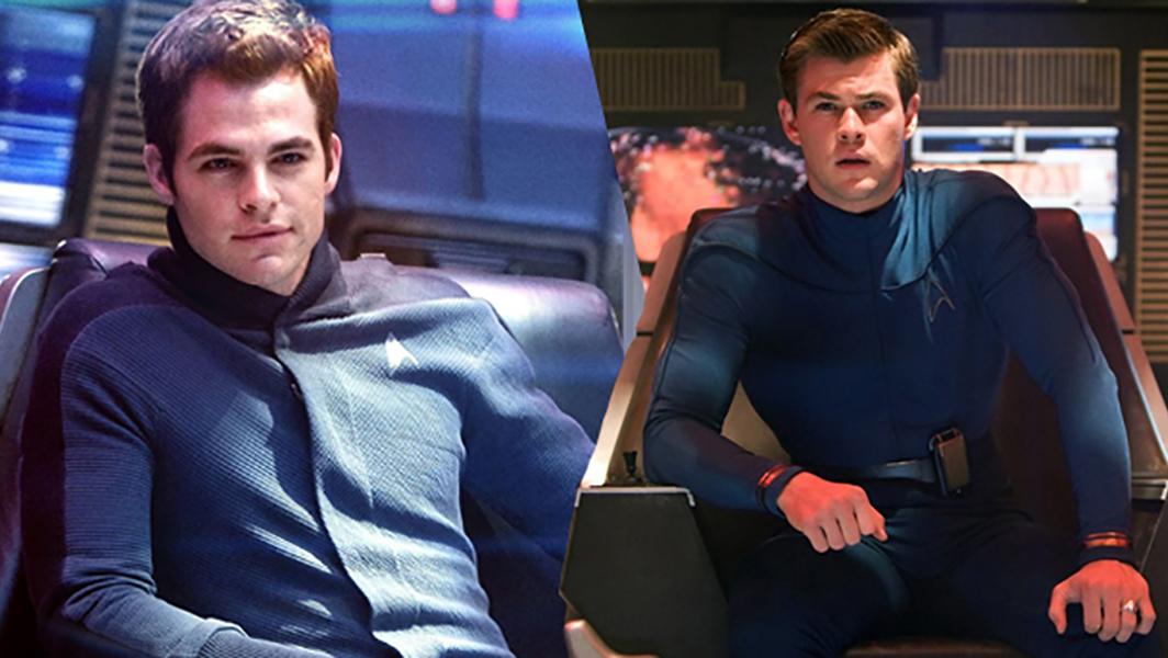 آینده نامشخص کریس پاین و کریس همزورث در فیلم جدید مجموعه فیلمهای Star Trek