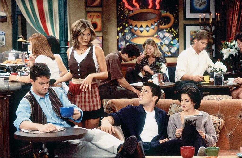 نام اصلی سریال Friends دوستان «Insomnia Café» بود