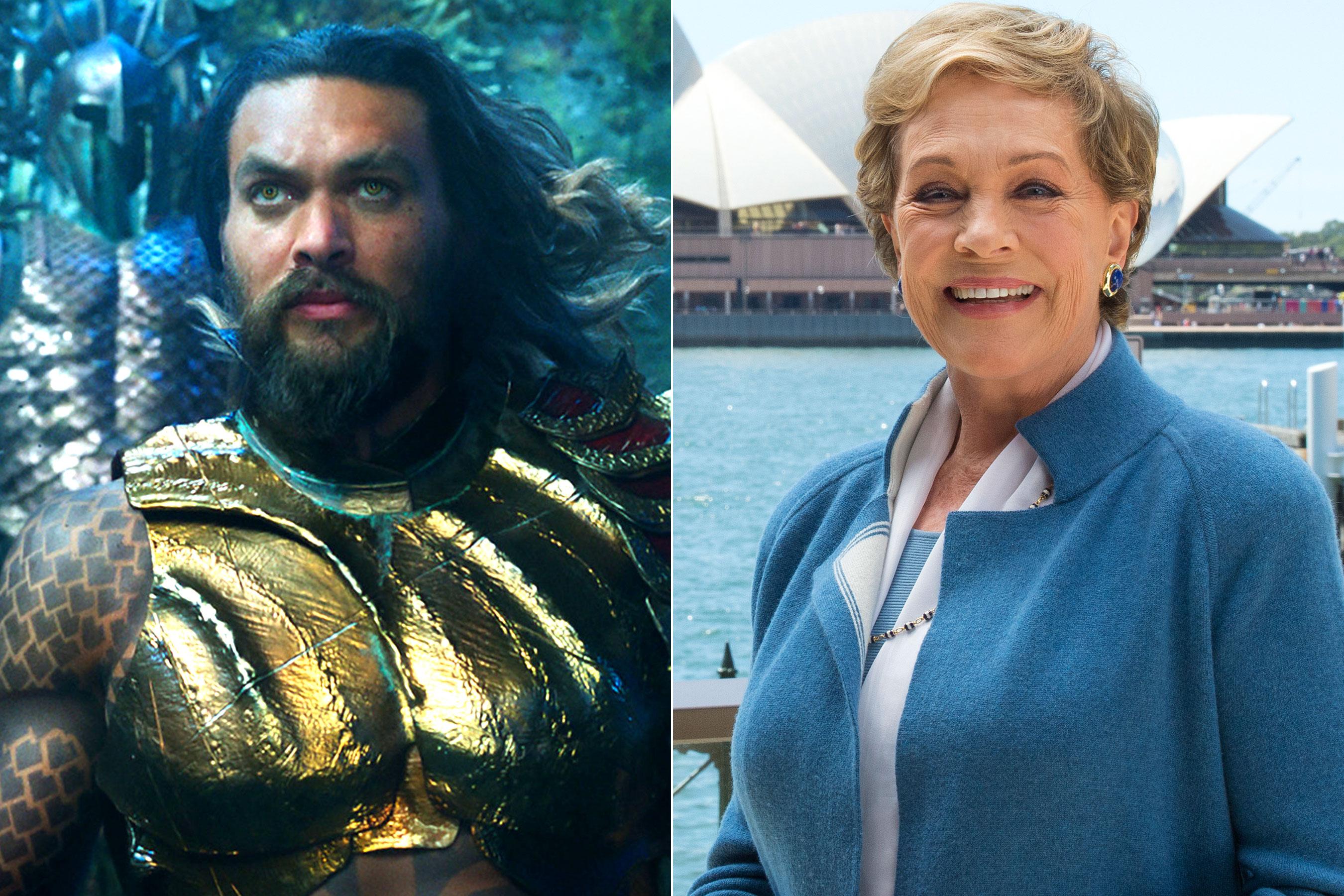 حضور جولی اندروز در فیلم Aquaman