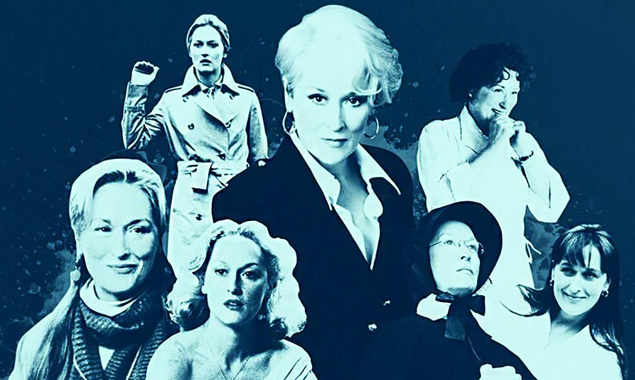 ۲۰ نقشآفرینی برتر مریل استریپ