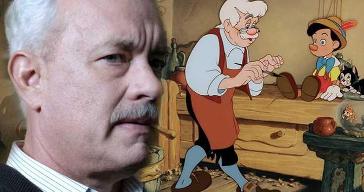 تام هنکس در بازسازی Pinocchio نقش ژپتو را بازی میکند