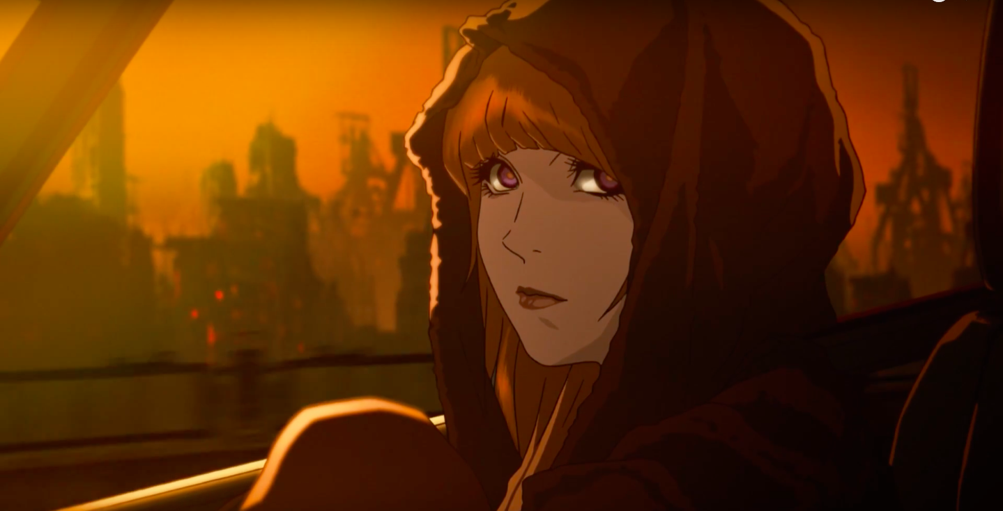 انیمه Blade Runner ساخته میشود.