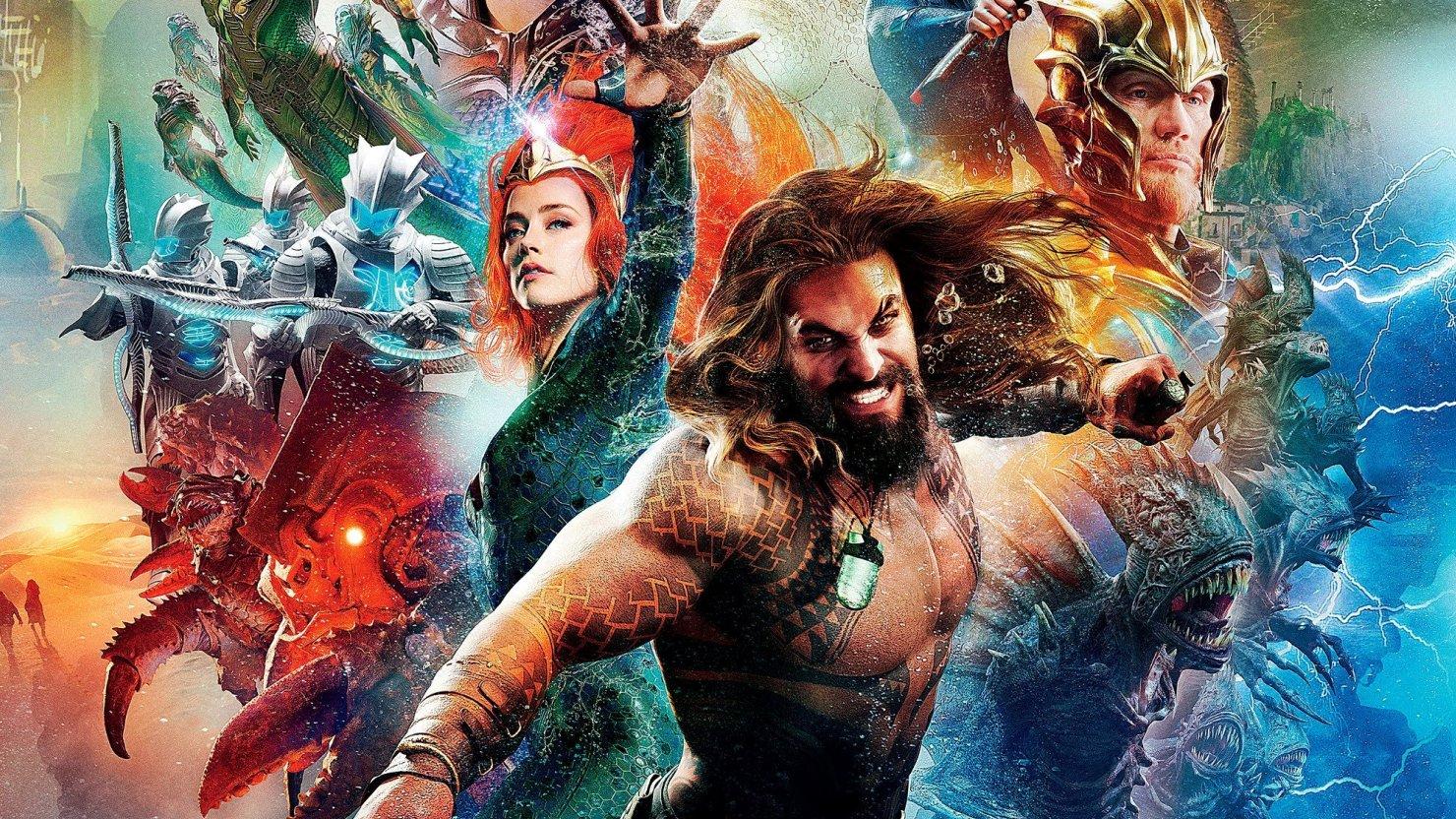 باکس آفیس آخر هفته: Aquaman در صدر قرار گرفت