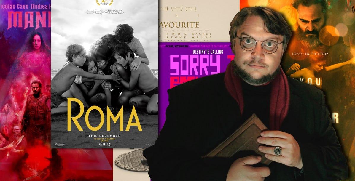 لیست فیلمهای موردعلاقه گیرمو دل تورو در سال ۲۰۱۸
