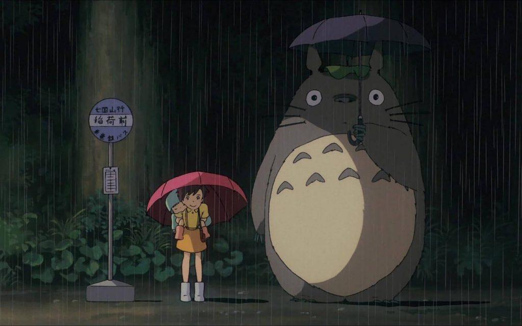 انیمه همسایه من توتورو