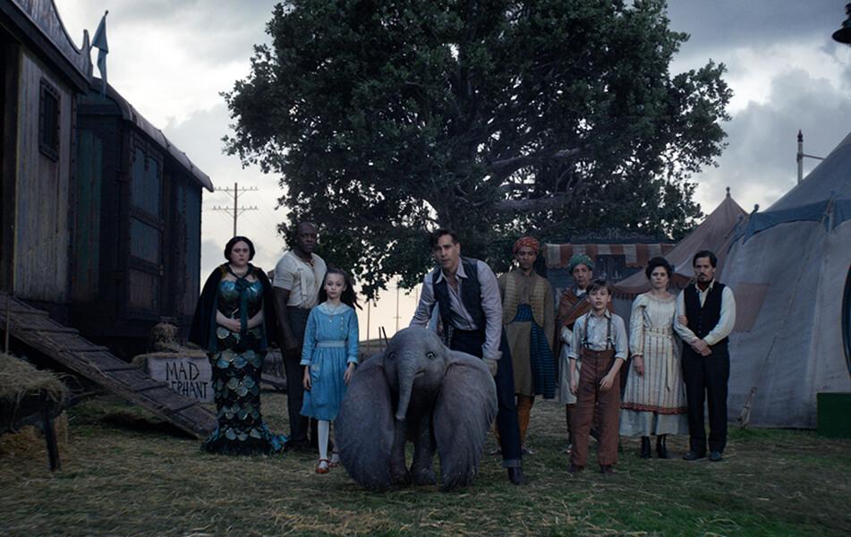 تیم برتون فیلم دامبو
