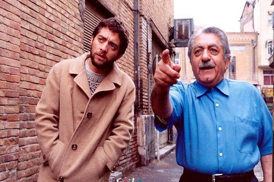 عزت الله انتظامی در فیلم گاو خونی