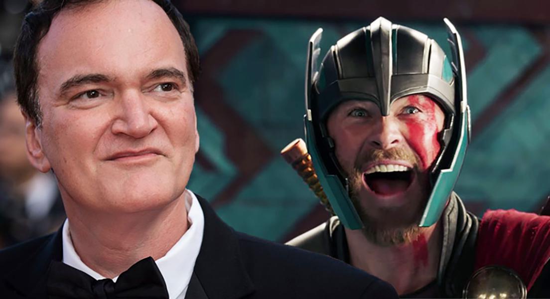 کوئنتین تارانتینو از علاقهاش به Thor Ragnarok میگوید