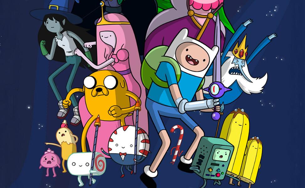 سریال وقت ماجراجویی  Adventure Time: خیالگونه و زیرکانه