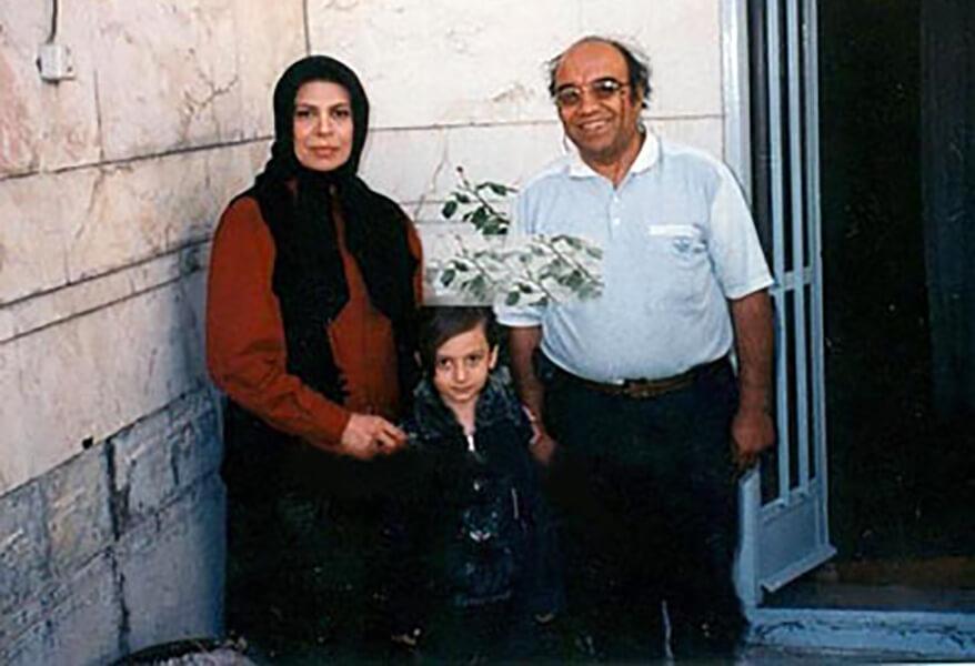 زوج گوهر خیراندیش و جمشید اسماعیلخانی