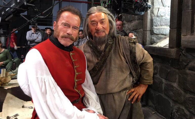 جکی چان و آرنولد شوارتزنگر در فیلم تخیلی چینی- روسی
