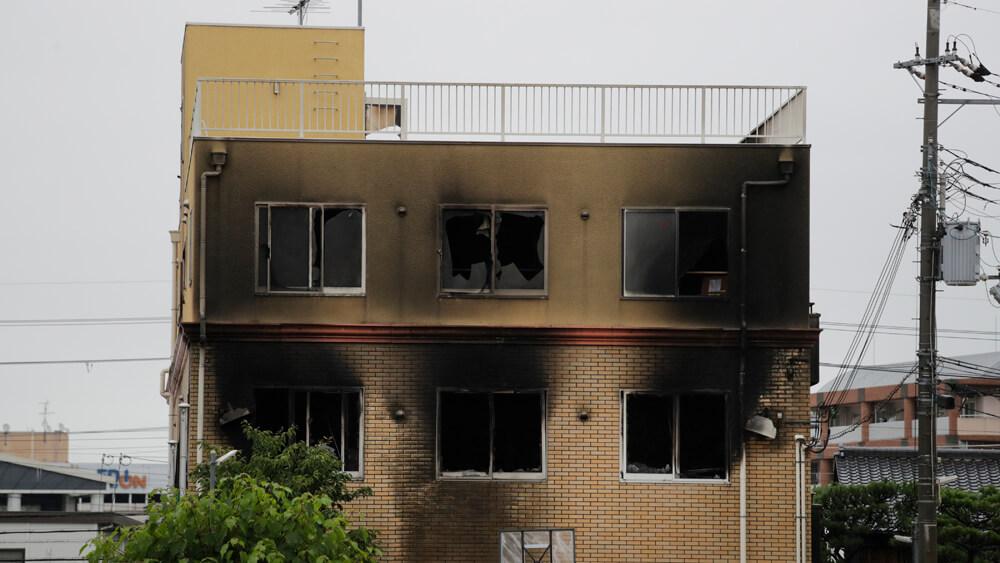 آتشافروزی عمدی در استودیو انیمیشن کیوتو  به مرگ 33 نفر انجامید