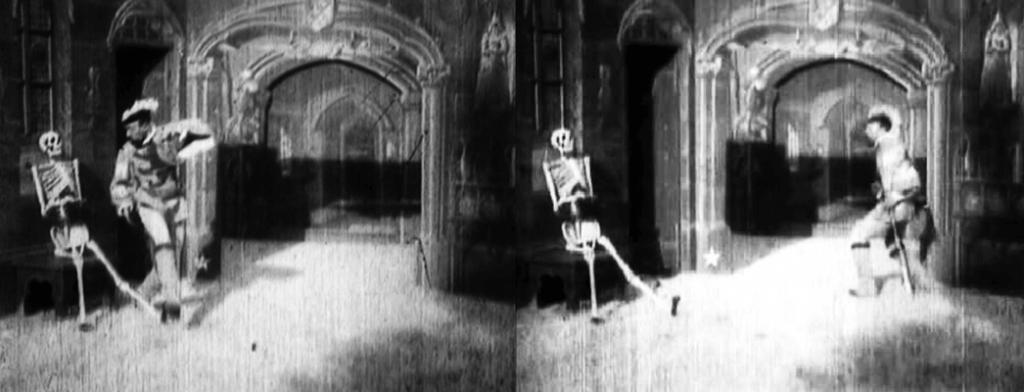 فیلم کوتاه سه دقیقهای Le Manoir du Diable