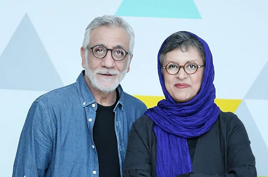 زوج رویا تیموریان و مسعود رایگان