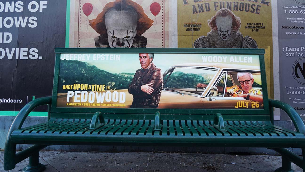 بیلبوردهای تبلیغاتی Once Upon a Time in Hollywood به نشانه اعتراض تخریب شدند