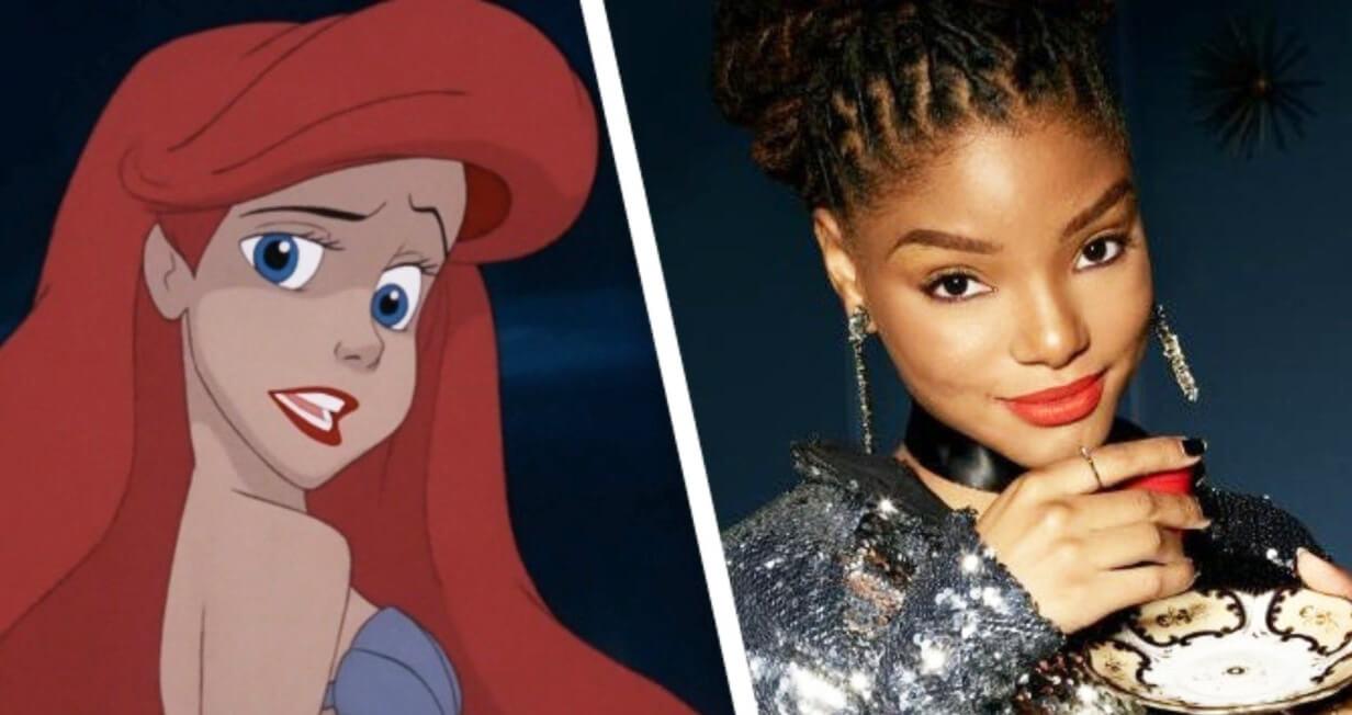 The Little Mermaid: انتخاب هاله بیلی برای بازی در نقش اریل