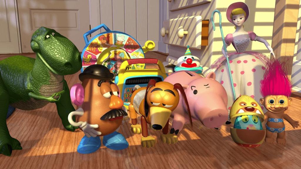 داستان اسباب بازی انیمیشن پیکسار
