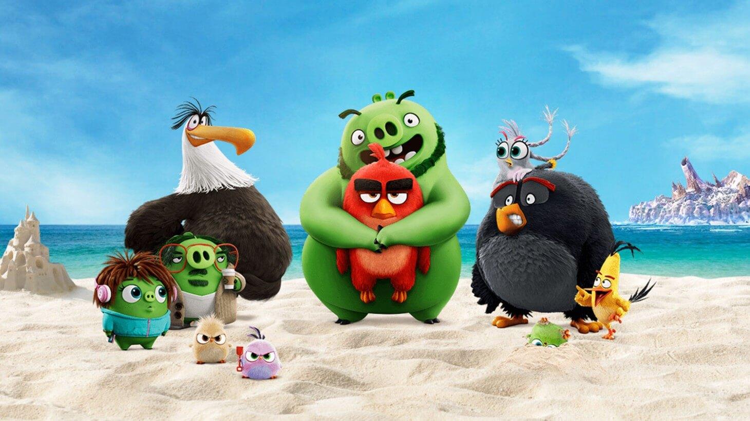 پرندگان خشمگین ۲- داستانی دیگر از شخصیتهای بازی پرطرفدار The Angry Birds