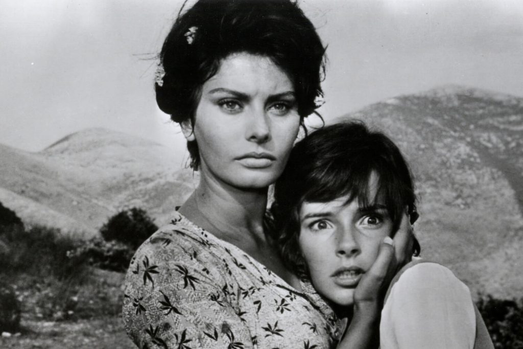 دو زن سوفیا لورن