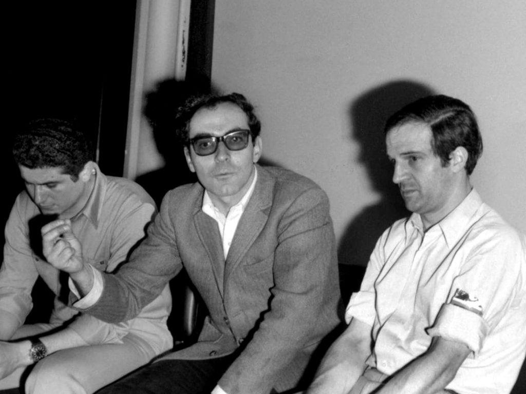 ژان لوک گدار و فرنسوا تروفو