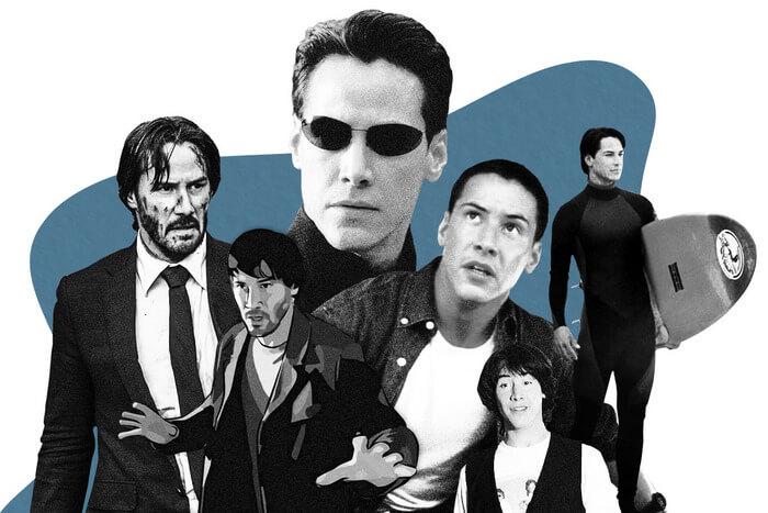 ۱۰ تا از بهترین نقشآفرینیهای کیانو ریوز