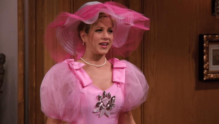 لباس ساقدوش صورتی ریچل