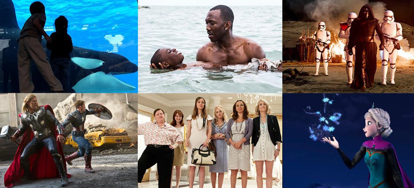 ۱۰ تا از تاثیرگذارترین فیلم های دهه اخیر